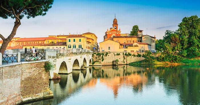 Il centro storico di Rimini