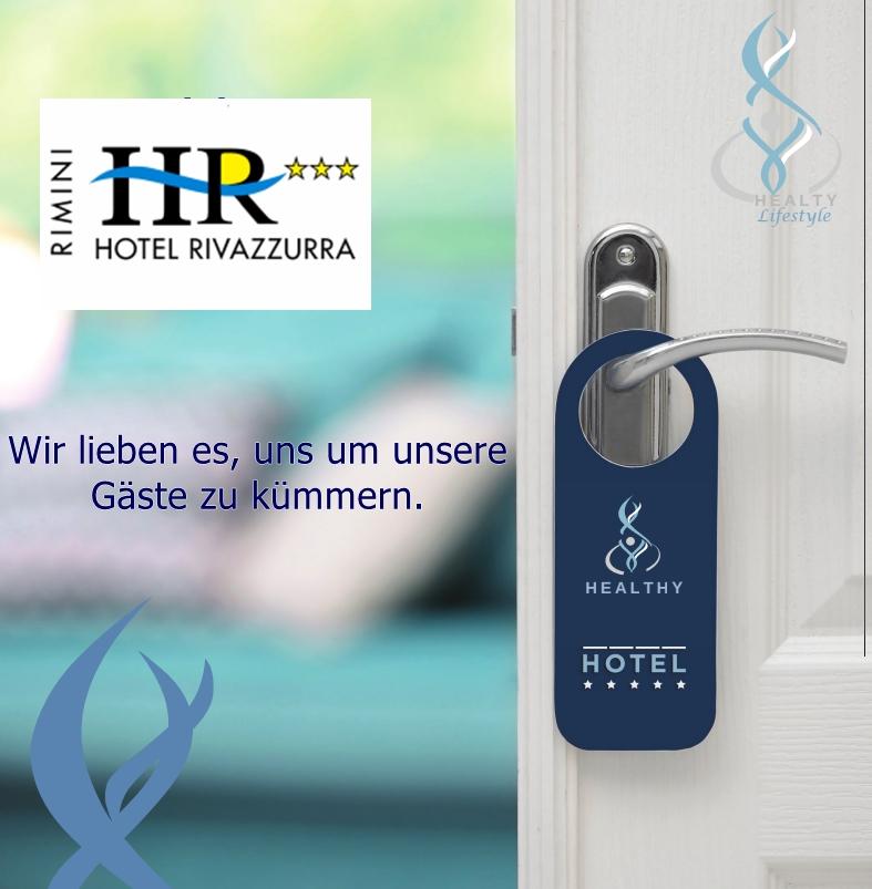 Das erste sanitisierte Hotel in Rimini, garantiert h24.
